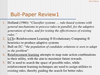 Bull-Paper Review1