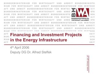 Financing and Investment Projects in the Energy Infrastructure