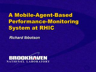 A Mobile-Agent-Based Performance-Monitoring System at RHIC