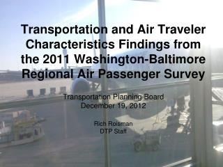 Transportation Planning Board December 19,  2012
