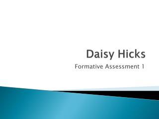 Daisy Hicks