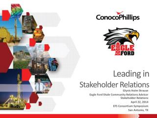 Leading in  Stakeholder Relations