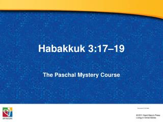 Habakkuk 3:17–19