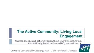 The Active Community: Living Local Engagement