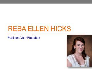 Reba Ellen Hicks