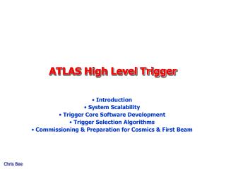 ATLAS High Level Trigger