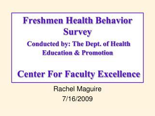 Rachel Maguire 7/16/2009