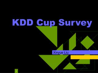 KDD Cup Survey