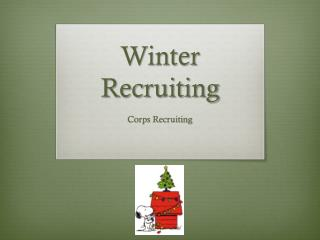 Winter Recruiting
