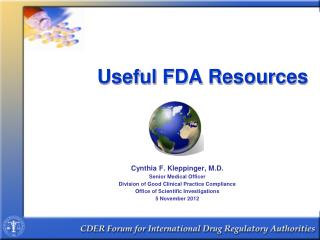 Useful FDA Resources