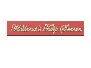 Holland's Tulip Season