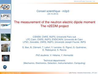 Laboratoire de Physique  Corpusculaire - Caen