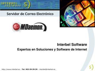 Interbel Software Expertos en Soluciones y Software de Internet
