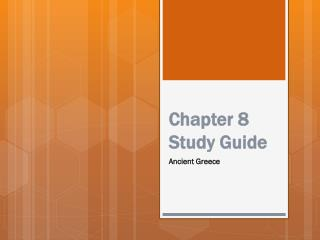 Chapter 8 Study Guide