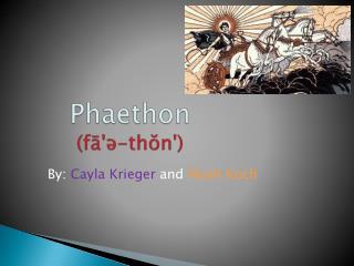 Phaethon ( fā'ə-thŏn ')