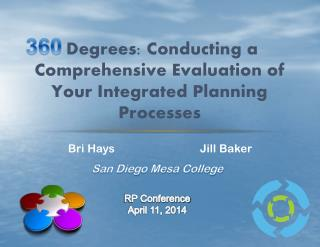 Degrees: Conducting a Comprehensive Evaluation of Your Integrated Planning Processes