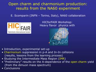Open charm and  charmonium  production: results from the NA60 experiment