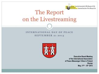The  Report  on  the Livestreaming