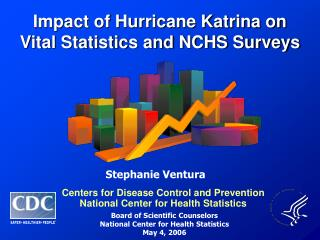 Impact of Hurricane Katrina on  Vital Statistics and NCHS Surveys