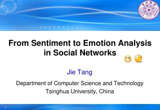 From Sentiment to Emotion Analysis in Social Networks