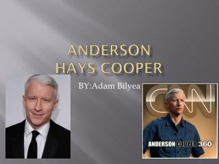Anderson  HAYS Cooper