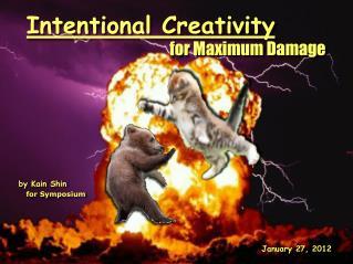 Intentional Creativity