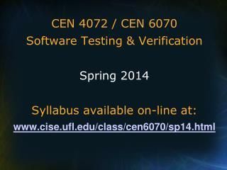 CEN 4072
