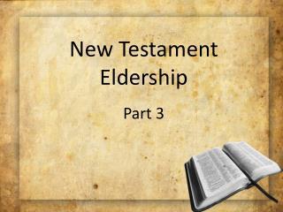 New Testament Eldership