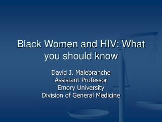Black Women and HIV: What you should know