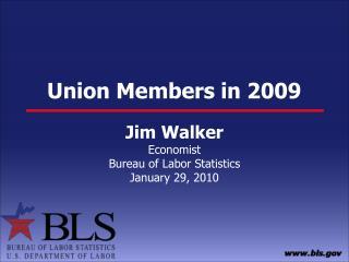 Union Members in 2009