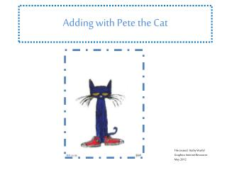 Adding with Pete the Cat