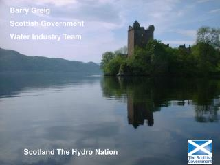 Barry Greig Scottish Government Water Industry Team