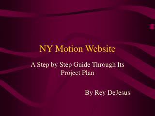 NY Motion Website