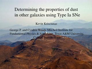 Determining the properties of dust in other galaxies using Type Ia SNe