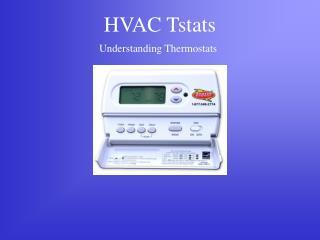 HVAC Tstats