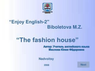 """Enjoy English-2"""