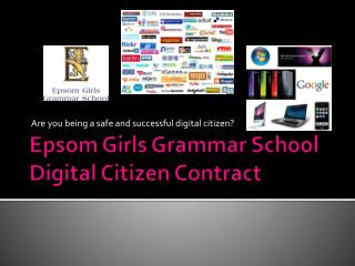 Epsom Girls Grammar School Digital Citizen Contract