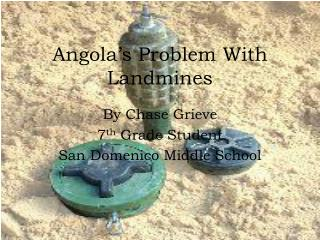 Angola's Problem With Landmines