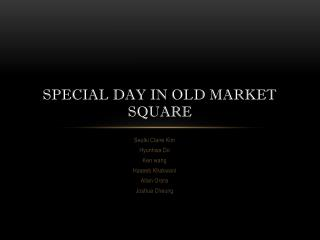 Special Day in Old Market Square