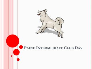 Paine Intermediate Club Day