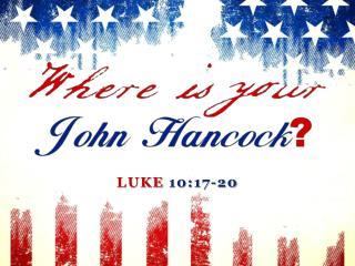Luke 10:17-20