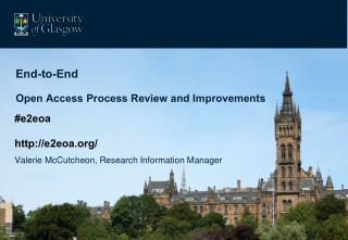 End-to-End Open Access Process Review and Improvements