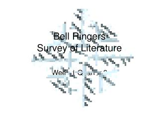 Bell Ringers Survey of Literature