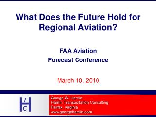 What Does the Future Hold for Regional Aviation?