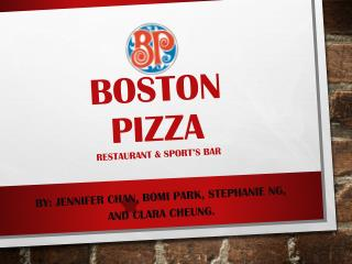 Boston  Pizza Restaurant & sport�s bar