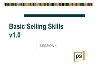 Basic Selling Skills v1.0