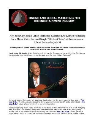 New York City Based Urban-Flamenco Guitarist Eric Kamen
