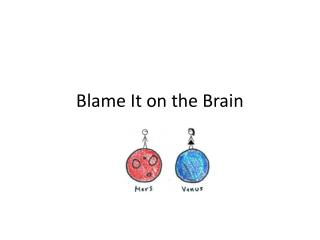 Blame It on the Brain