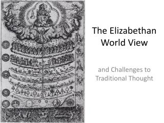 The Elizabethan World View