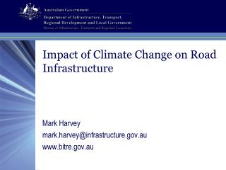 Impact of Climate Change on Road Infrastructure